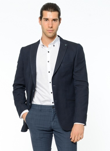 Beymen Business Slim Fit Blazer Ceket Lacivert